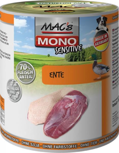 MAC's Dog Mono Sensitive mit Ente (getreidefrei)