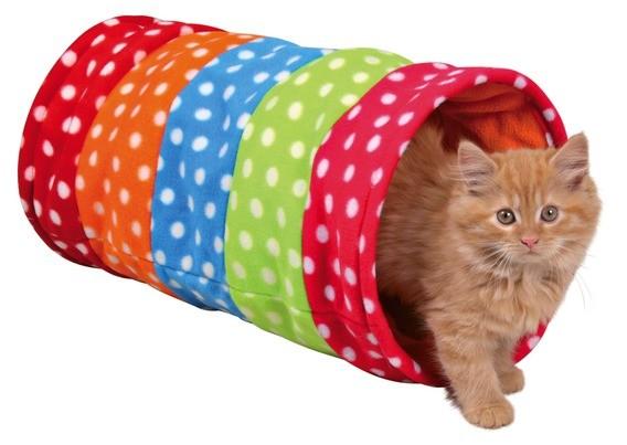 Trixie Spieltunnel mit Raschel-Folie