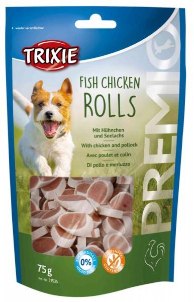 Trixie Premio Rolls Fisch Chicken 75 g