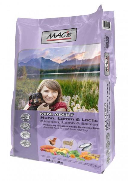 MAC's Dog Adult MINI Huhn, Lamm & Lachs