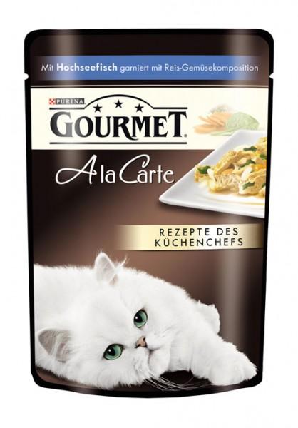 Gourmet A La Carte - 85g Hochseefisch