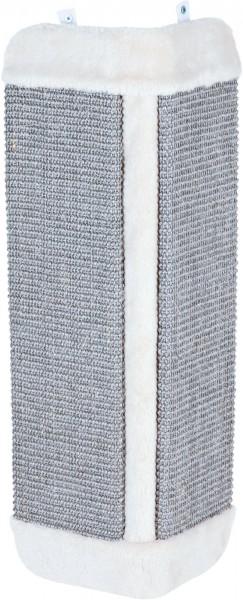 Trixie Kratzbrett für Zimmerecke 32 x 60 cm Grau