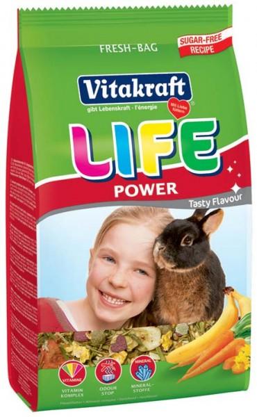 Vitakraft Life Power, 600 g Zwergkaninchen