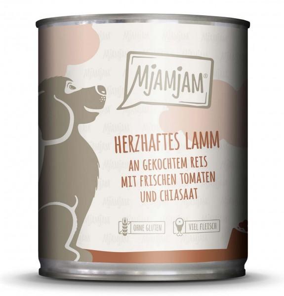 MjAMjAM - Hundefutter - herzhaftes Lamm