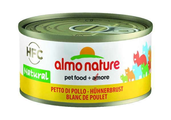Almo Nature Katzenfutter HFC Natural mit Hühnerbrust