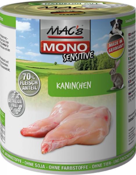 MAC's Dog Mono Sensitive mit Kaninchen (getreidefrei)
