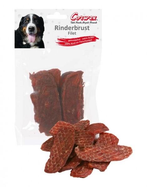 Corwex Hundesnack Rinderbrust getrocknet